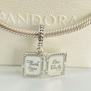 PANDORA Family Book Dangle Charm